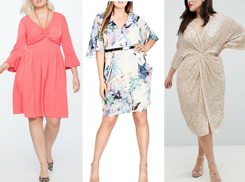 21 Plus Size Wedding Guest Dresses {with Sleeves}