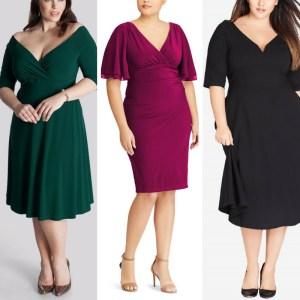 43 Plus Size Wedding Guest Dresses {with Sleeves} - Plus Size Party Dresses - Plus Size Fashion for Women - alexawebb.com #alexawebb #plussize
