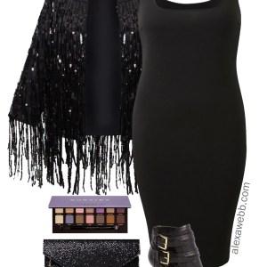 Plus Size Concert Outfit Idea - Plus Size Date Night Outfit - Plus Size Fashion for Women - alexawebb.com #alexawebb #plussize