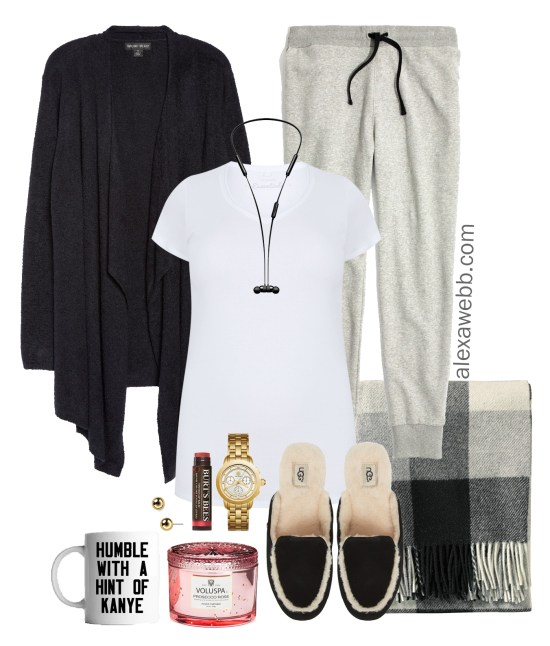 Plus Size Joggers Outfits - In-the-Home - Plus Size Outfit for Home - Working from Home - Plus Size Fashion for Women - alexawebb.com #alexawebb #plussize