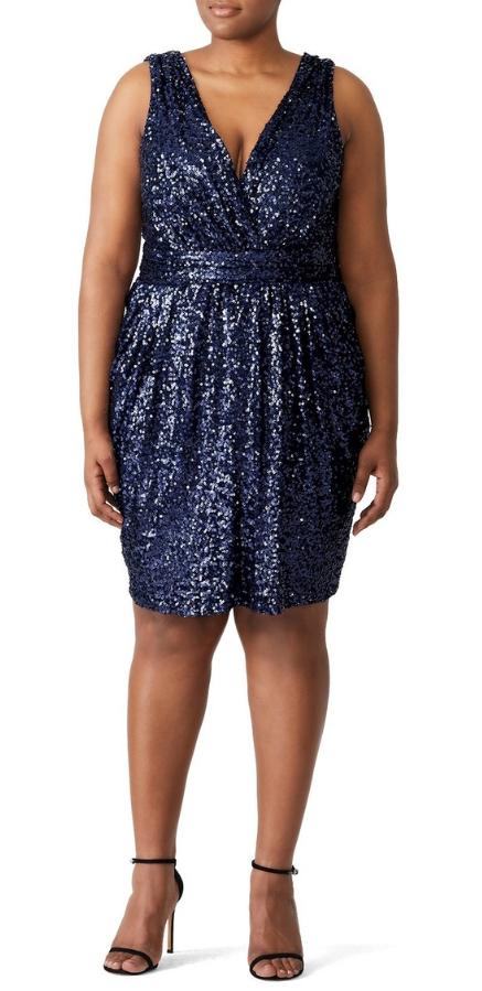 24 Plus Size Sequin Dresses - Plus Size Holiday Party Dress - Plus Size Fashion for Women - alexawebb.com #plussize #alexawebb