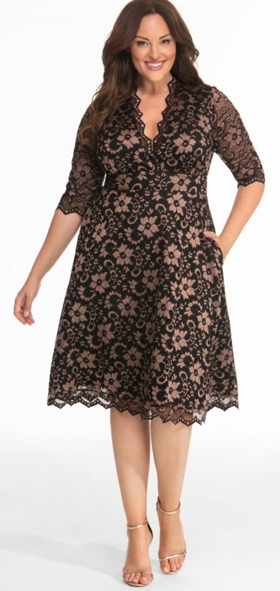 45 Plus Size Wedding Guest Dresses With Sleeves Alexa Webb