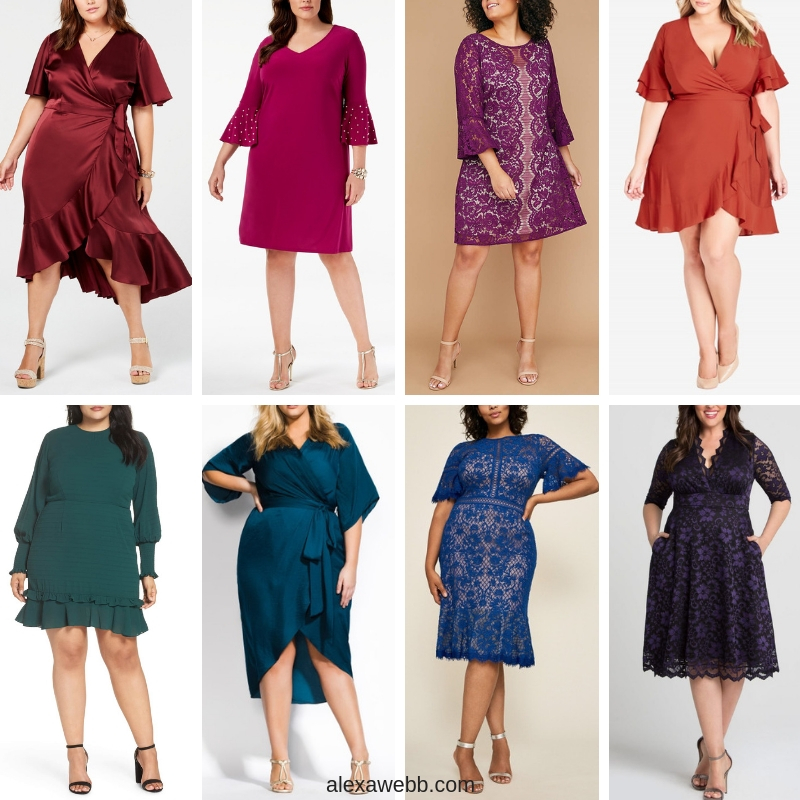 0c341bcd6fc6 45 Plus Size Wedding Guest Dresses  with Sleeves  - Alexa Webb