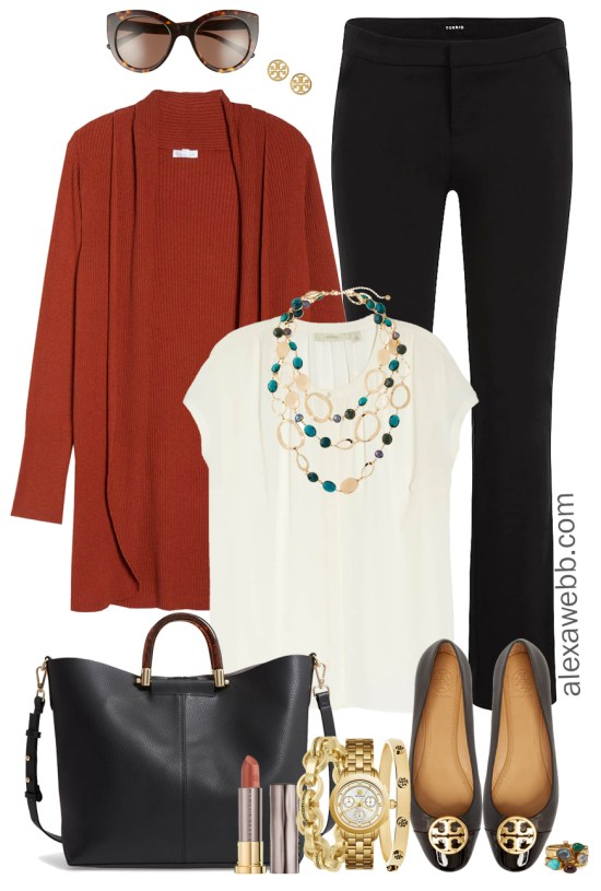 Plus Size Fall Work Outfit - Plus Size Winter Workwear - Plus Size Fashion for Women - alexawebb.com #plussize #alexawebb