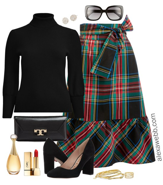 880f23e9acb37 Plus Size Plaid Christmas Outfits - Plus Size Holiday Outfit Ideas - Plus  Size Fashion for