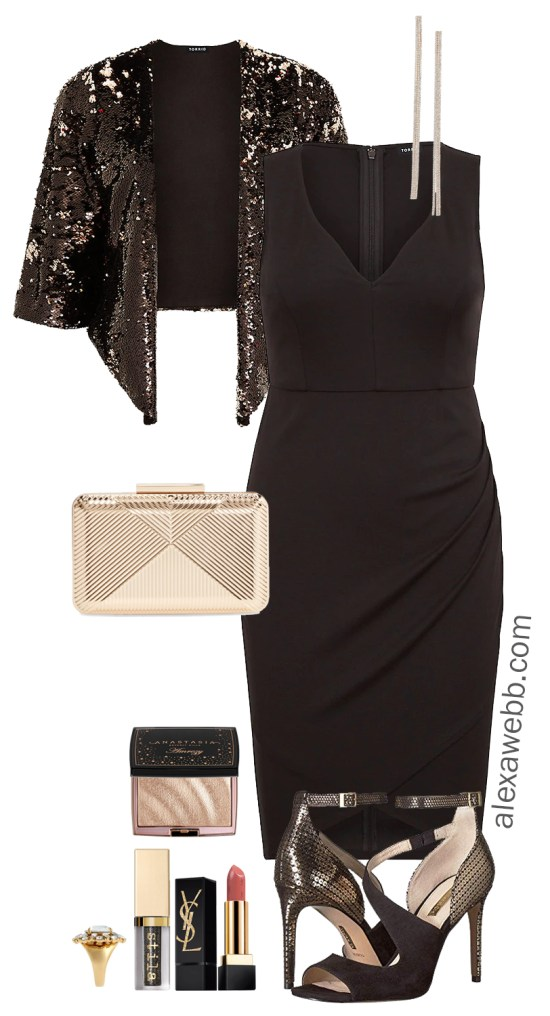 Plus Size Holiday Party Outfits - The Cocktail Party - Plus Size Fashion for Women - alexawebb.com #plussize #alexawebb