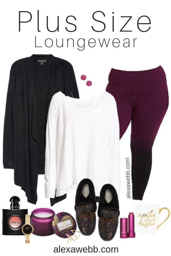 Plus Size Winter Lounge Wear Alexa Webb