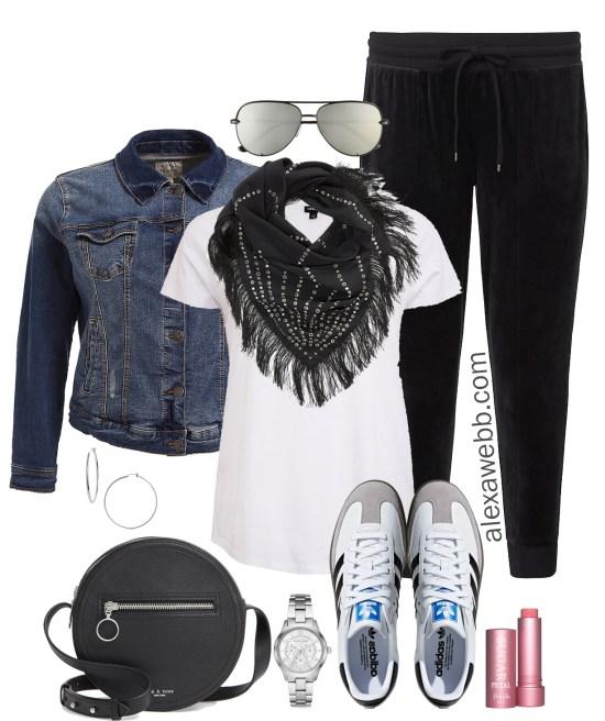 Plus Size Athleisure Outfit Ideas - Plus Size Casual Outfit - Plus Size Fashion for Women - alexawebb.com #plussize #alexawebb