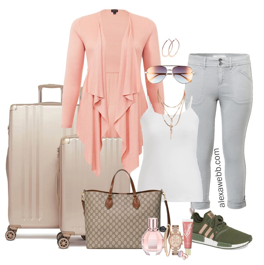 89bf5f468648d Plus Size Airport Style Outfit - Alexa Webb