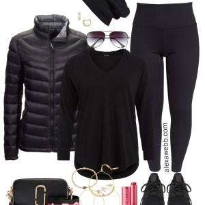 Plus Size Winter Athleisure Outfit - Plus Size Casual Outfit - Plus Size Fashion for Women - Alexa Webb - alexawebb.com #plusssize #alexawebb