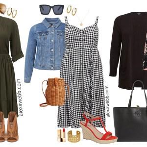 Plus Size Spring Dresses Outfits - Plus Size Fashion for Women - alexawebb.com #plussize #alexawebb