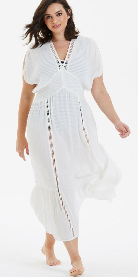 30 Plus Size Swimwear Cover-Ups - Plus Size Swimsuits - Alexa Webb - alexawebb.com #alexawebb #swimwear