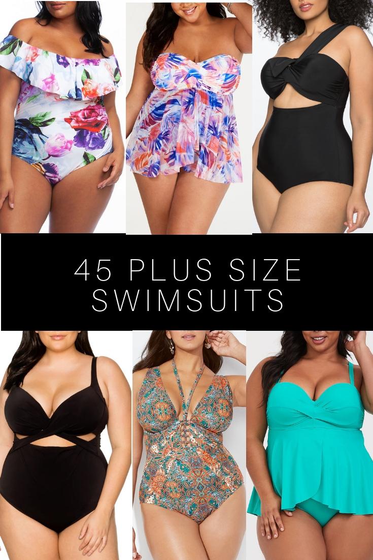 ccc66efc1f1a6 45 Plus Size Swimsuits - Plus Size Swimwear - Alexa Webb - alexawebb.com