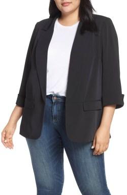 Plus Size Black Blazer Outfit - Plus Size Fashion for Women - alexawebb.com #plussize #alexawebb
