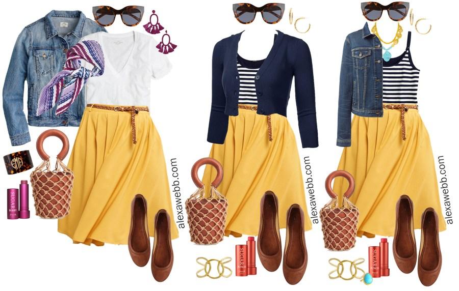 e98fcfb5eea Plus Size Midi Skirt Outfits - Alexa Webb