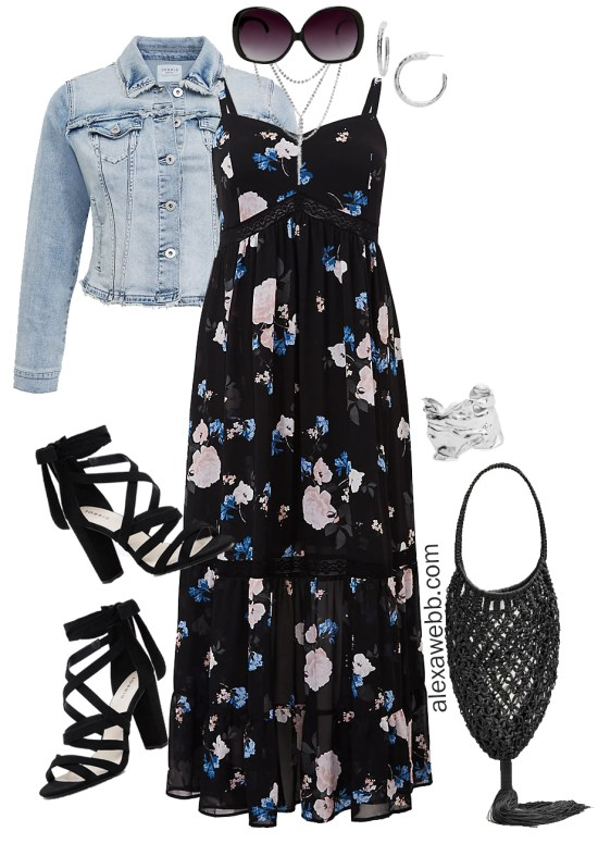Plus Size Spring Break Outfits - At the Beach to The Bar - Plus Size Fashion for Women - alexawebb.com #plussize #alexawebb