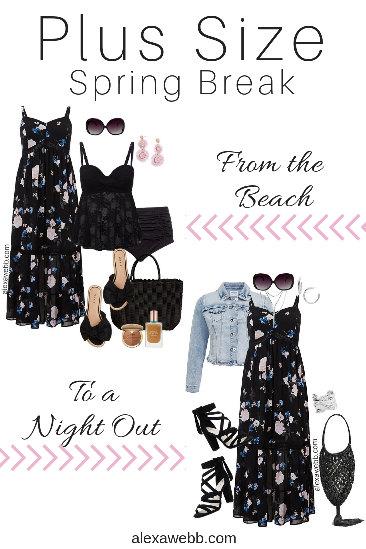 Plus Size Spring Break Outfits - Plus Size Fashion for Women - alexawebb.com #plussize #alexawebb