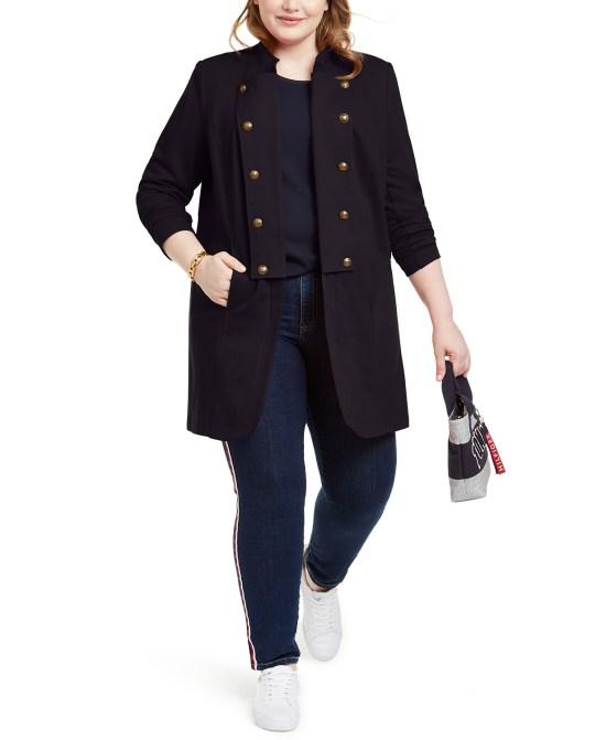 Plus Size Brands to Know - Tommy Hilfiger Plus Sizes - #plussize #alexawebb