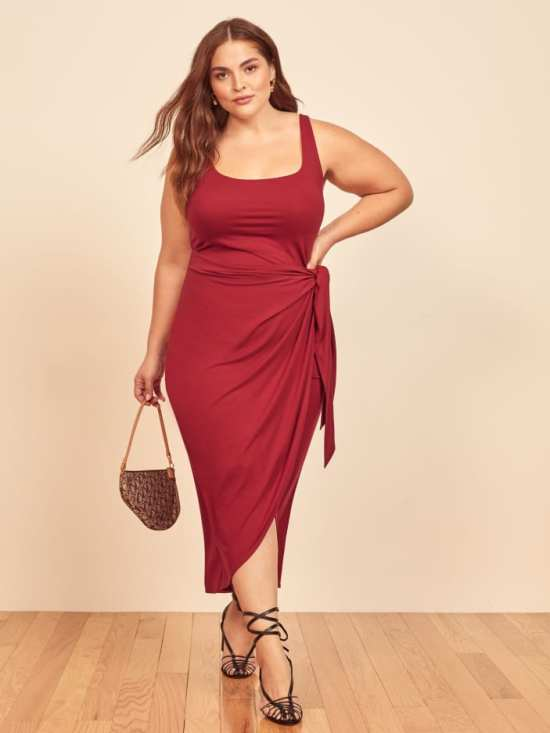 Plus Size Brands to Know - Reformation Plus Sizes -  #plussize #alexawebb