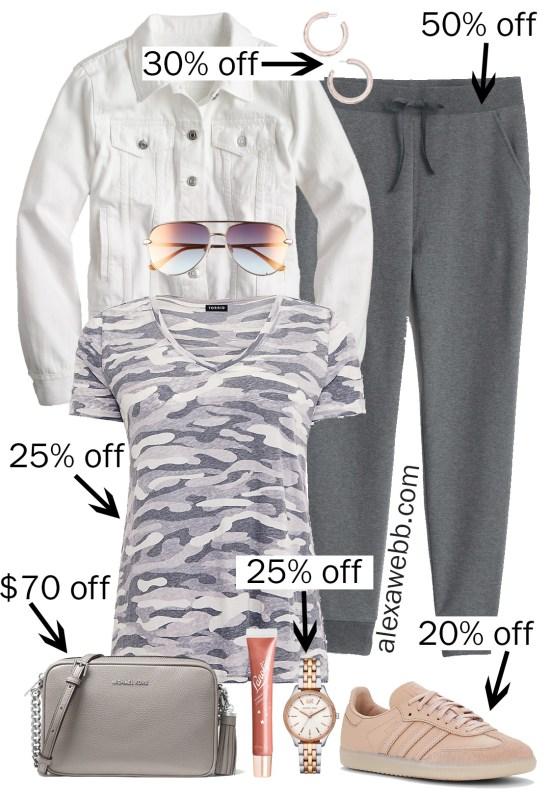 Plus Size Spring Sales - Joggers Outfits - Plus Size Fashion for Women - alexawebb.com #plussize #alexawebb