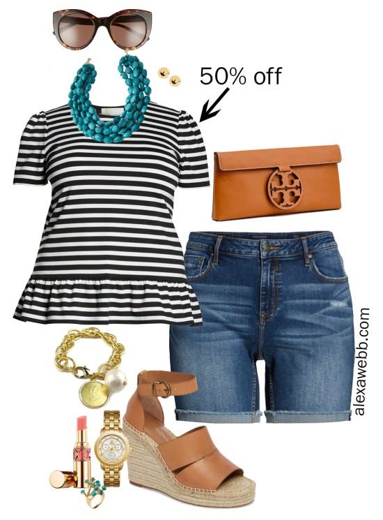 Plus Size Spring Sales - Outfits - Plus Size Fashion for Women - alexawebb.com #plussize #alexawebb