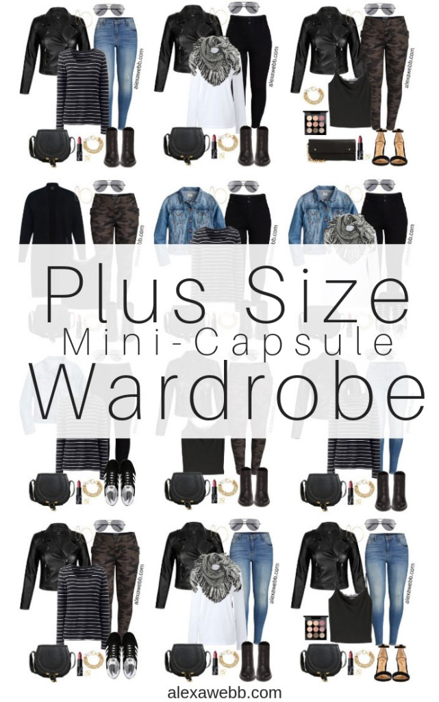 Plus Size Fall Capsule Wardrobe - Plus Size Outfit Ideas - alexawebb.com - Alexa Webb #plussizefashion #alexawebb