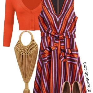 Plus Size Fall Dress Outfit Idea - Plus Size Teacher Outfit Idea - Alexa Webb - alexawebb.com #plussize #alexawebb