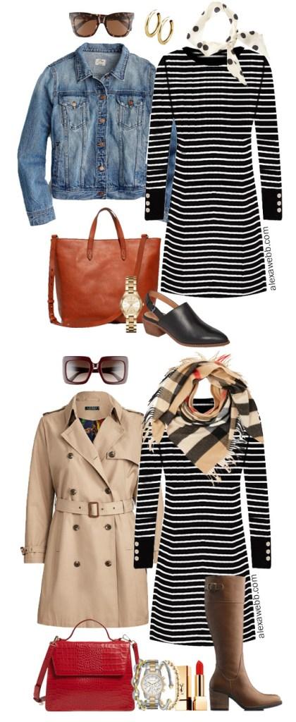 Plus Size Sweater Dress Outfit Ideas for Fall - Plus Size Fashion for Women - alexawebb.com #Plussize #Alexawebb