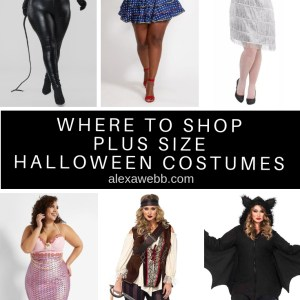 Where to shop plus size Halloween costumes in 2019 - alexawebb.com #plussize #alexawebb #plussizehalloween