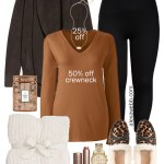 2019 Plus Size Cyber Monday Sales - Plus Size Cozy Loungewear with Barefoot Dreams Cardigan, T-Shirt, Leggings, and Leopard Calf Hair Slippers - Alexa Webb #Plussize #alexawebb