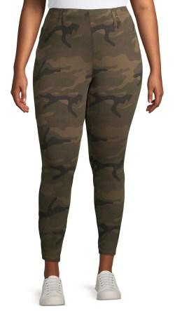 Plus Size Camo Pants - Alexa Webb