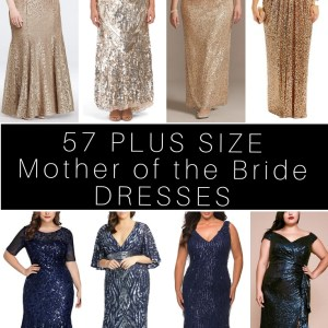 57 Plus Size Mother of the Bride Dresses - Plus Size Mother of the Groom Dress - Alexa Webb #alexawebb