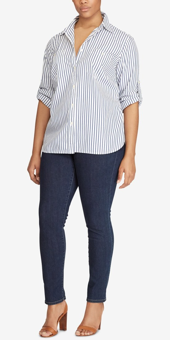 10 Plus Size Preppy Brands to Know - Lauren Ralph Lauren - Alexa Webb - Plus SIze Fashion for Women - #alexawebb #plussize