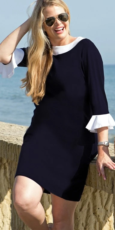 10 Plus Size Preppy Brands to Know - Navy Jane - Alexa Webb - Plus SIze Fashion for Women - #alexawebb #plussize