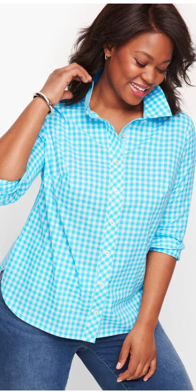 10 Plus Size Preppy Brands to Know - Talbot's - Alexa Webb - Plus SIze Fashion for Women - #alexawebb #plussize