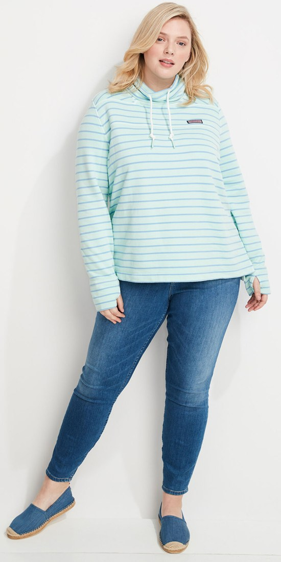 10 Plus Size Preppy Brands to Know - Vineyard Vines - Alexa Webb - Plus SIze Fashion for Women - #alexawebb #plussize