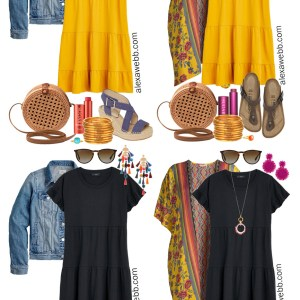 Plus Size Casual Summer Dress Outfits - Alexa Webb