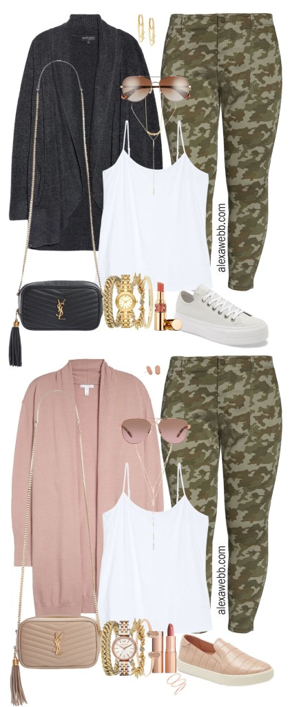 Plus Size Camo Pants Fall Outfit Ideas from the 2020 Nordstrom Anniversary Sale - Alexa Webb #plussize #alexawebb