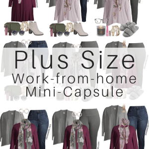 Plus Size on a Budget – Work-from-Home Outfits and Mini-Capsule - Alexa Webb #Plussize #Alexawebb
