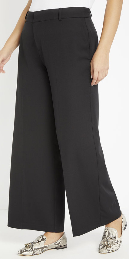 Plus Size Pants for Inverted Triangle Shapes - Alexa Webb #plussize #alexawebb