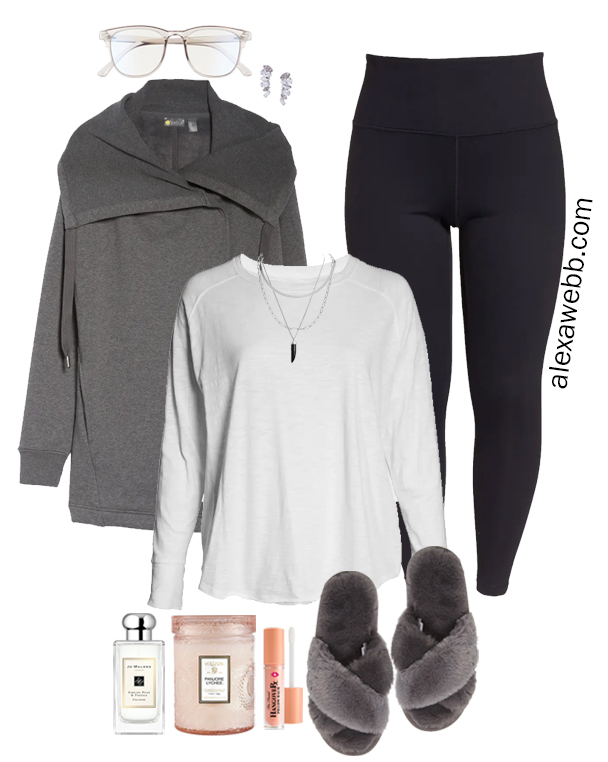 Plus Size Loungewear Outfit from my Plus Size Fall Athleisure Mini-Capsule - Alexa Webb