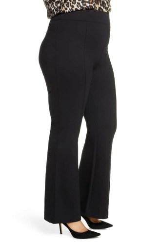 Plus Size Black Flare Pants from Alexa Webb's 2021 Plus Size Fall Work Capsule Wardrobe