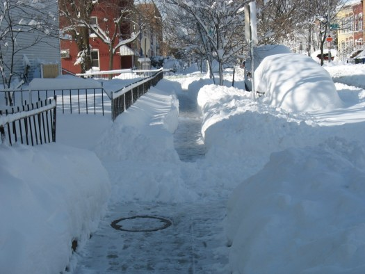 Different shoveling philosophies