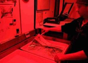 photographic darkroom printing