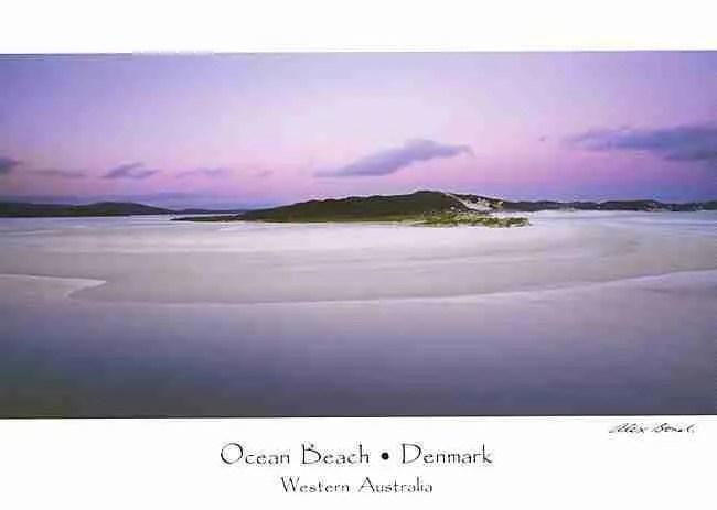 Denmark Postcards Ocean Beach