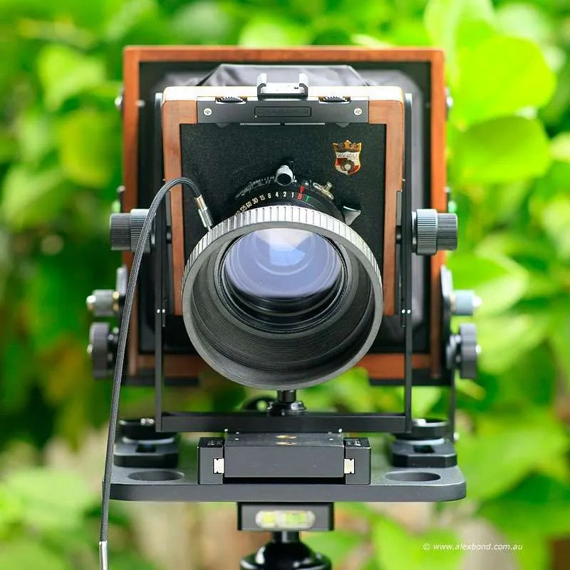large-format camera movements lens tilt