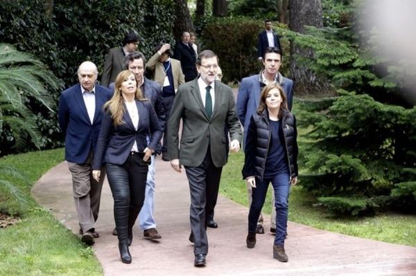 Alicia Sánchez-Camacho y Mariano Rajoy