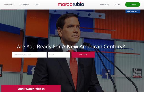 Marco Rubio, el candidato latino emergente