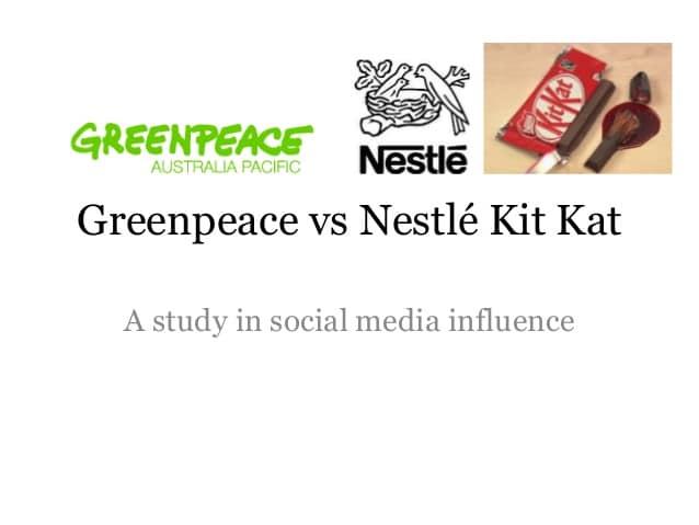 Nestle contra Greenpeace