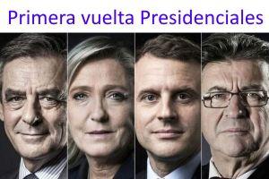 primera vuelta presidenciales francesas 2017